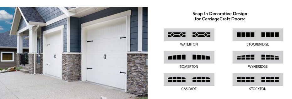 CarriageCraft Garage doors and designs