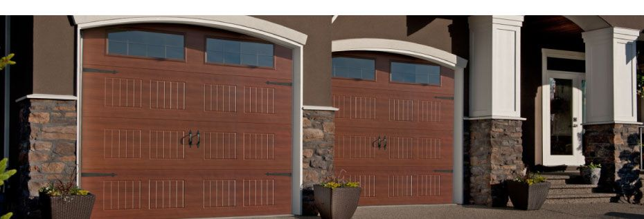 Elite Series wood garage doors