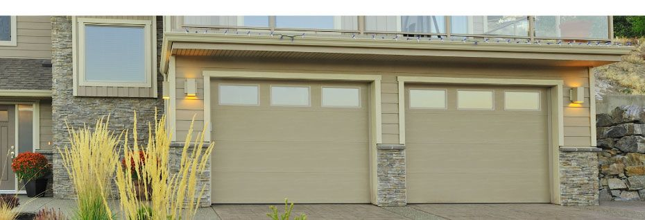 Flush Series garage Door